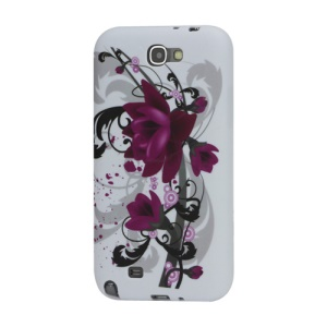 Lotus TPU Cover Case for Samsung Galaxy Note 2 / II N7100