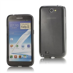 Inner Matte TPU Case Cover for Samsung Galaxy Note 2 / II N7100 - Grey