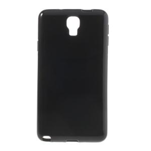 Glossy Candy TPU Shell for Samsung Galaxy Note 3 Lite N750 / Neo N7500 N7505 - Black