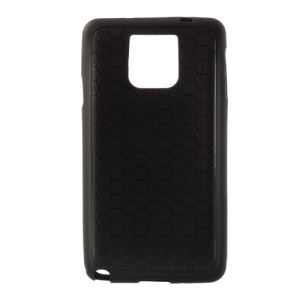Football Veins Extended Battery Soft TPU Case for Samsung Galaxy Note 3 N9005 N9002 - Black
