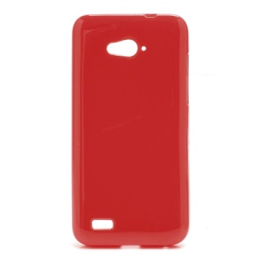 Candy Jelly Gel TPU Case Cover for ZTE N983 - Red