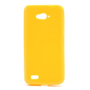 Candy Jelly Gel TPU Case Cover for ZTE N983 - Yellow