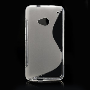 S-Curve TPU Gel Case Cover for HTC One M7 801e