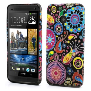 Multiple Patterns Gel TPU Case Shell for HTC One M7 801e