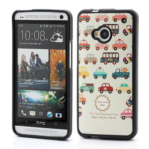 Numerous Car Bus TPU Shell Case for HTC One M7 801e