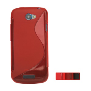 S Shape TPU Gel Case for T-Mobile HTC One S Z520e