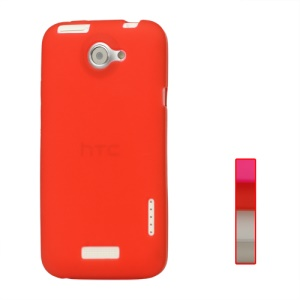 Frosted TPU Gel Case for HTC One X S720e / One XL / One X Plus