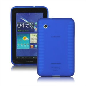 Stylish Blade TPU Case for Samsung Galaxy Tab 2 7.0 P3100 P3110 - Blue