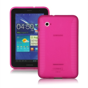 Stylish Blade TPU Case for Samsung Galaxy Tab 2 7.0 P3100 P3110 - Rose