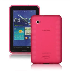 Stylish Blade TPU Case for Samsung Galaxy Tab 2 7.0 P3100 P3110 - Pink