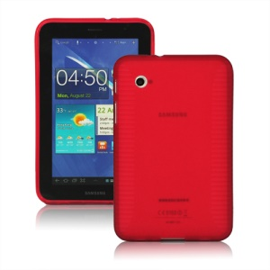Stylish Blade TPU Case for Samsung Galaxy Tab 2 7.0 P3100 P3110 - Red