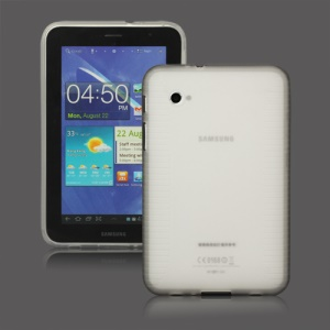 Stylish Blade TPU Case for Samsung Galaxy Tab 2 7.0 P3100 P3110 - Transparent