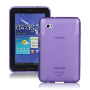 X Shape TPU Case Cover for Samsung Galaxy Tab 7.0 Plus P6200 P6210