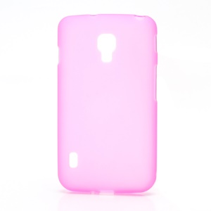 Matte Gel TPU Case Cover for LG Optimus L7 II Dual P715 Duet+ - Rose