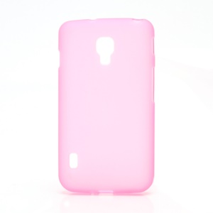 Matte Gel TPU Case Cover for LG Optimus L7 II Dual P715 Duet+ - Pink