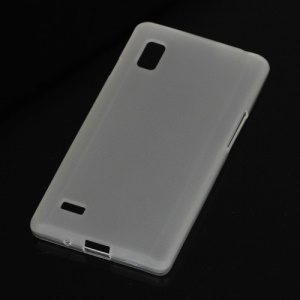 Matte TPU Jelly Case Cover for LG Optimus L9 P760 P765 P768 - White