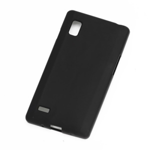 Matte TPU Cover Case for LG Optimus L9 P760 P765 P768 - Black