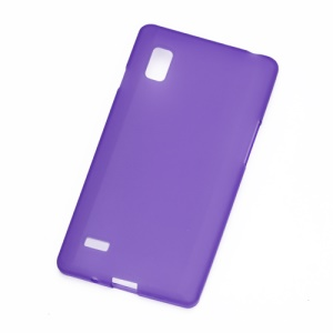 Matte TPU Case Cover for LG Optimus L9 P760 P765 P768 - Purple
