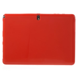 Red Glossy Outer Matte Inner Soft TPU Cover for Samsung Galaxy Note Pro 12.2 P900 / Tab Pro 12.2 T900