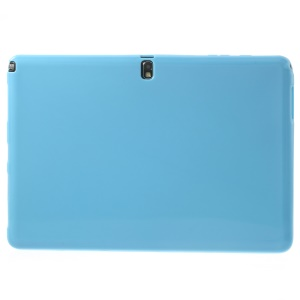 Light Blue Glossy Outer Matte Inner Slim TPU Cover for Samsung Galaxy Note Pro 12.2 P900 / Tab Pro 12.2 T900