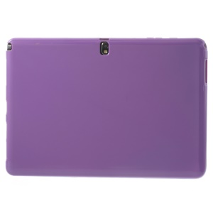 Purple Glossy Outer Matte Inner Slim TPU Cover for Samsung Galaxy Note Pro 12.2 P901 / Tab Pro 12.2 T905