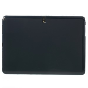 Dark Blue for Samsung Galaxy Note Pro 12.2 P900 / Tab Pro 12.2 T900 Glossy Outer Matte Inner TPU Jelly Shell