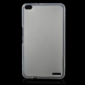 Double-sided Matte TPU Case Cover for Huawei MediaPad X1 7.0 - Translucent