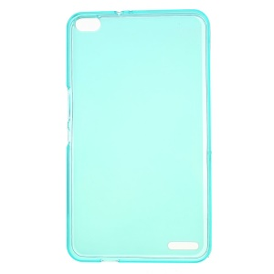 Double-sided Matte TPU Jelly Cover for Huawei MediaPad X1 7.0 - Cyan