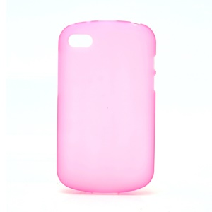 Candy Gel TPU Cover Case for BlackBerry Q10 - Pink