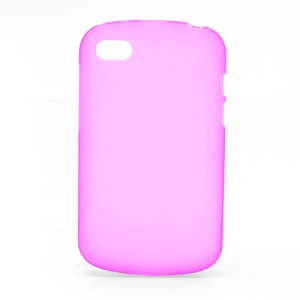Candy Gel TPU Cover Case for BlackBerry Q10 - Rose