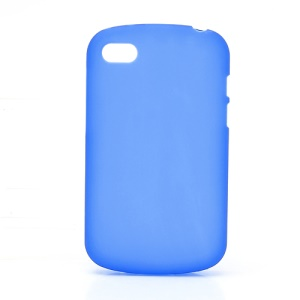 Candy TPU Gel Cover Case for BlackBerry Q10 - Blue