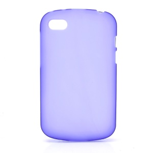 Candy Gel TPU Cover Case for BlackBerry Q10 - Purple