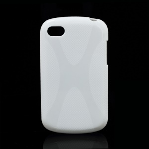 X Shape TPU Gel Case Cover Accessories for BlackBerry Q10