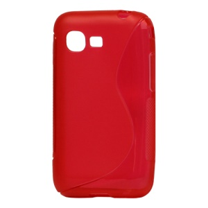 S Shape TPU Gel Case Cover for Samsung Star 3 s5220 / Duos s5222