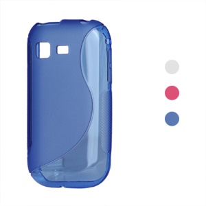 S Shape TPU Gel Case for Samsung Galaxy Pocket S5300
