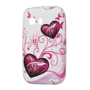 Two Hearts TPU Case for Samsung Galaxy Y S5360