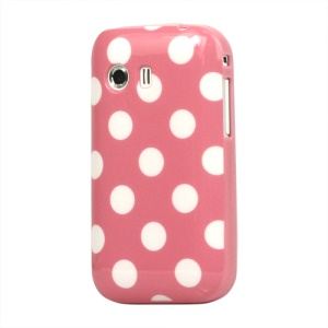 Polka Dots TPU Gel Case Cover for Samsung Galaxy Y S5360