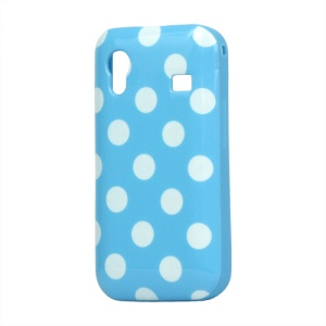 Polka Dot TPU Skin Case Cover for Samsung Galaxy Ace S5830
