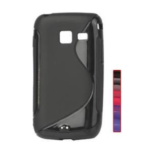 S Shape TPU Case Cover for Samsung Galaxy Y Duos S6102 S6102B