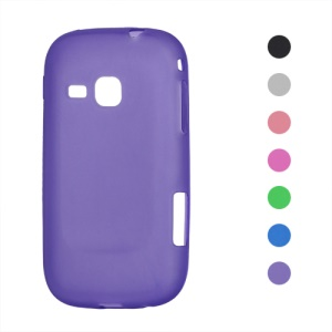 Clear Frosted TPU Gel Case for Samsung Galaxy Mini 2 S6500