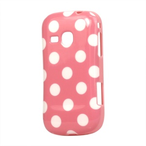 Polka Dots TPU Gel Case Cover for Samsung Galaxy Mini 2 S6500