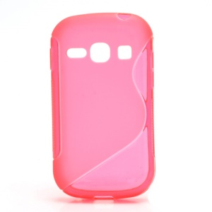 S-Curve Soft Gel TPU Case Cover for Samsung Galaxy Fame S6810