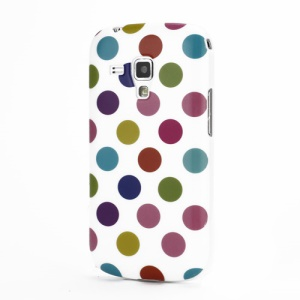 Pokla Dots TPU Case Cover for Samsung Galaxy S Duos S7562 - Colorful