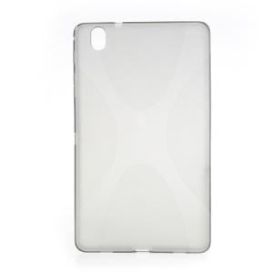 X-Shape TPU Skin Case Shell for Samsung Galaxy Tab Pro 8.4 T320 - Grey