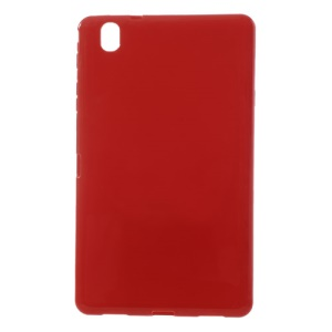 Red Glossy Outer Matte Inner Soft TPU Case for Samsung Galaxy Tab Pro 8.4 T320 T321 T325