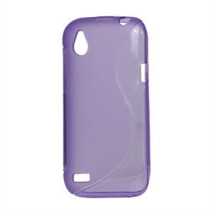 S Curve TPU Case Cover for HTC Desire V T328w Desire X T328e