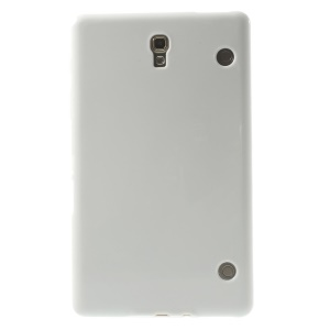 Outer Glossy Inner Matte TPU Shell for Samsung Galaxy Tab S 8.4 T700 T705 - White