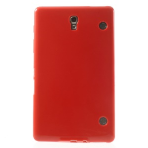 Outer Glossy Inner Matte TPU Case for Samsung Galaxy Tab S 8.4 T700 T705 - Red
