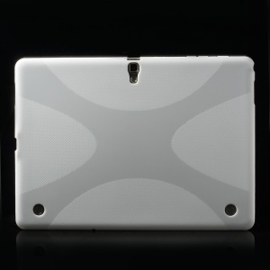 X Pattern TPU Skin Case for Samsung Galaxy Tab S 10.5 T800 T805 - White