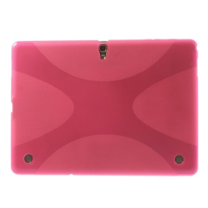 Soft TPU Gel Cover X Pattern for Samsung Galaxy Tab S 10.5 T800 T805 - Rose